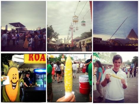 summerfest collage