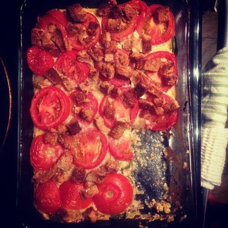 9.9.12 tomato and squash gratin