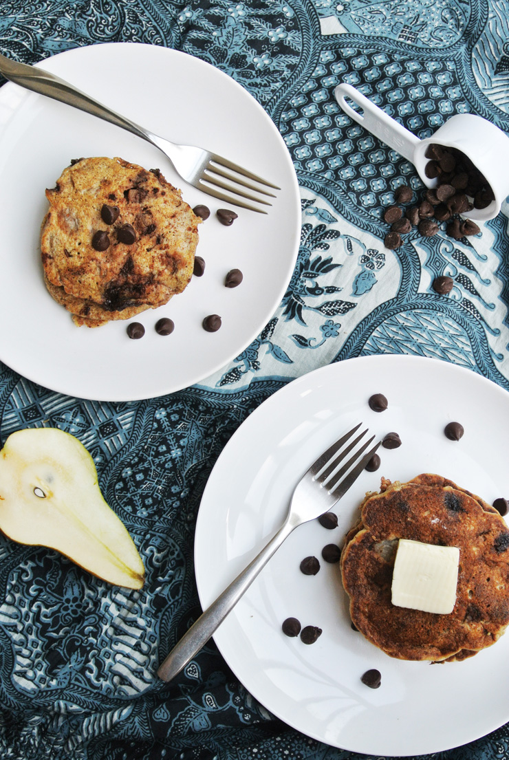 Pancake Fridays: Whole Wheat Pear and Chocolate Pancakes | The ...