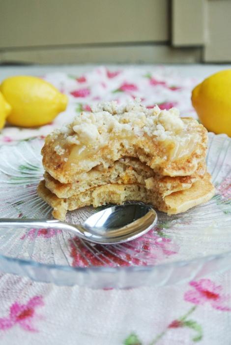 Lemon Bar Pancakes