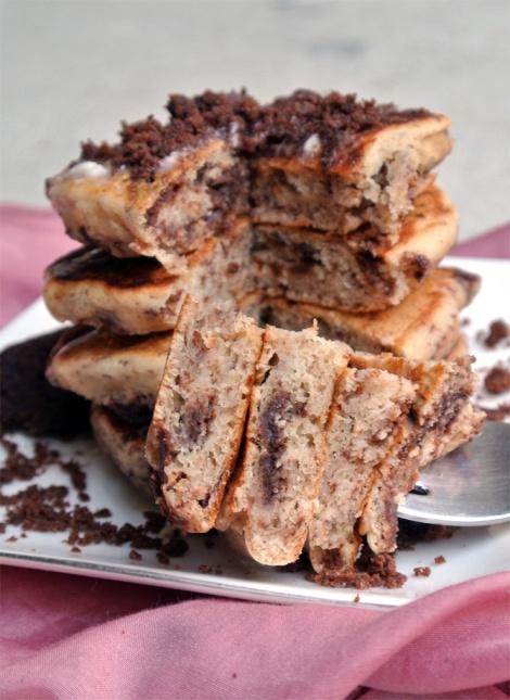 Cookies 'n Cream Pancakes